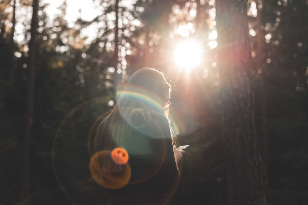 lens flare effect aperture