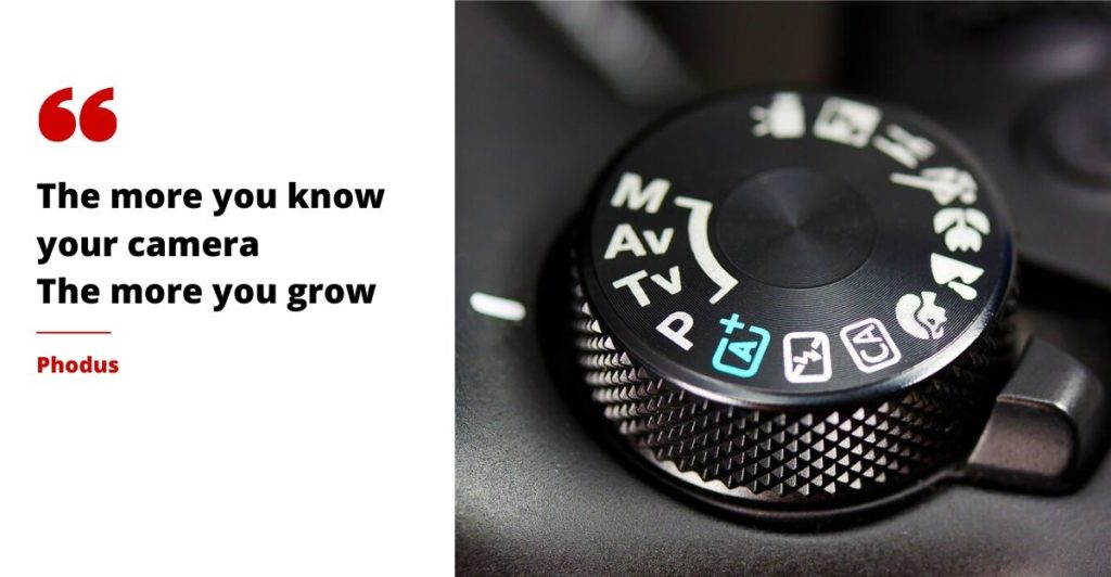 camera modes phodus
