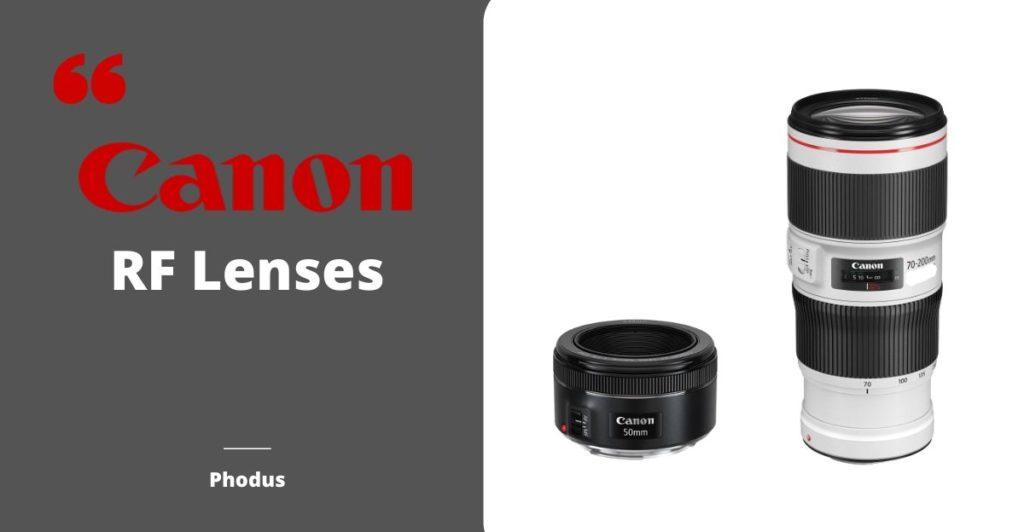 canon announce RF lenses
