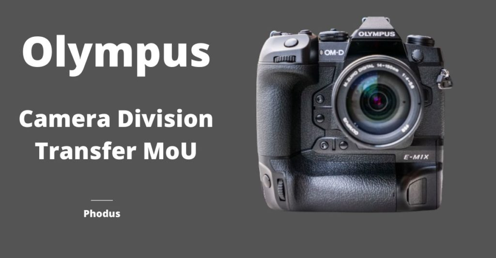 Olympus transfer its Imaging business